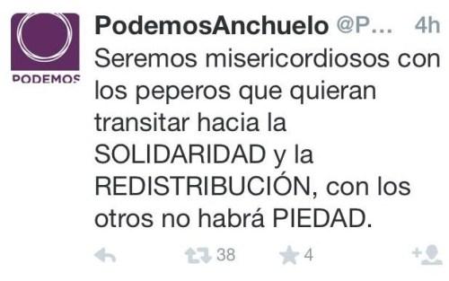 Propuesta de Podemos para que no te queden más cojones que apoyar sus propuestas. Viendo la ligereza del término fascista, cualquiera que no acepte la eliminación del heteropatriarcado fascista y falócrata será automáticamente tildado de pepero